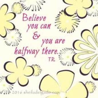 Believe you can, © 2016 sheiladelgado.com