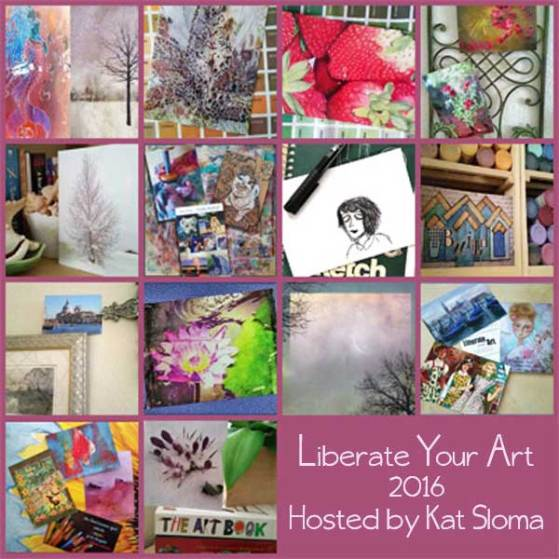 2016 Liberate your art cards received. sheiladelgado.com