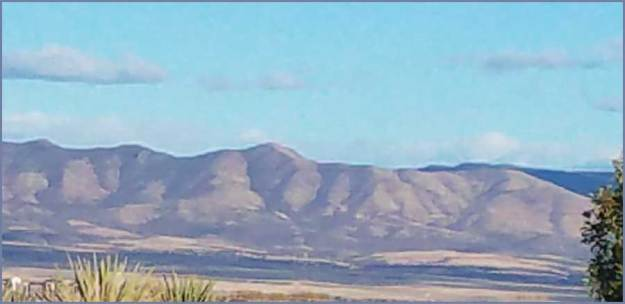 Hills from Prescott Valley. 2017 SMD