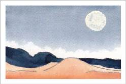 Mingus Day #7. 3.5 x 5 in. watercolor on Arches 140 lb. cold pressed paper. © 2018 Sheila Delgado.