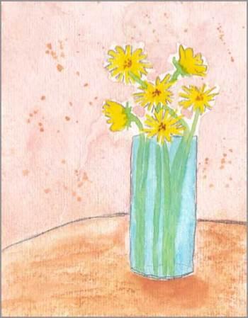 #19 WWM. 4 x 5.5 in. watercolor on Strathmore 140 lb. cold pressed paper. © 2018 Sheila Delgado.
