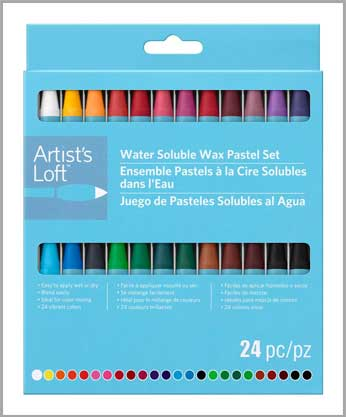 Water Soluble Wax Pastels by Artist's Loft®
