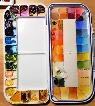 Mijello Palette, 18-Well.