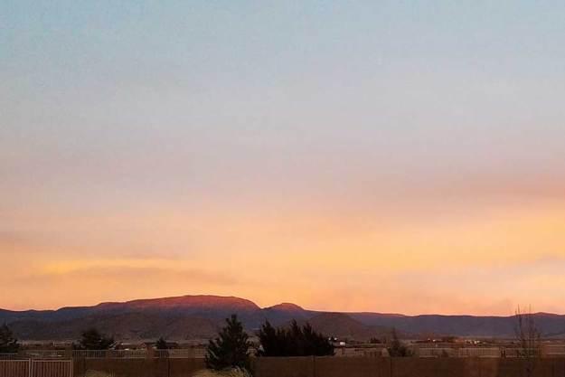 Sunset 3-25-20