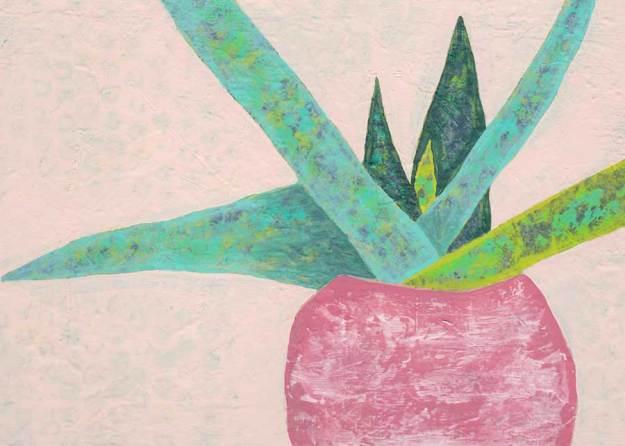 Day 18, Mixed Media on 5 x 7 Canvas Board. © 2021 Sheila Delgado.
