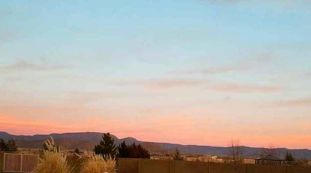 Mingus Sunset 2-8-21. © 2021 Sheila Delgado.