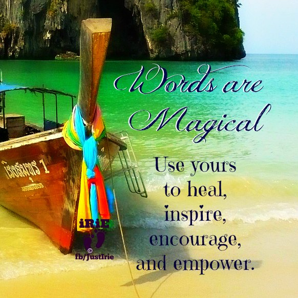 irie 2 words magical