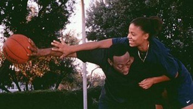Image result for love and basketball one on one scene