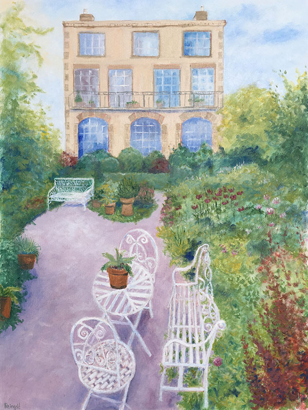 Backyard Garden, English Countryside