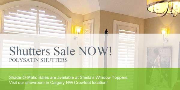 Calgary Shutter Sale 40% Off