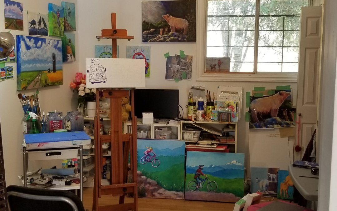 Lately in the Studio…
