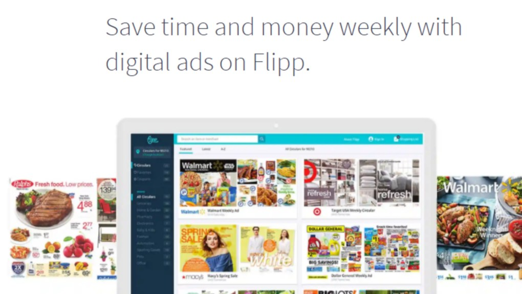 use the flipp app for grocery budget