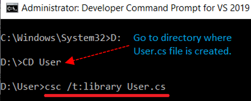 Command to generate assembly-reflection