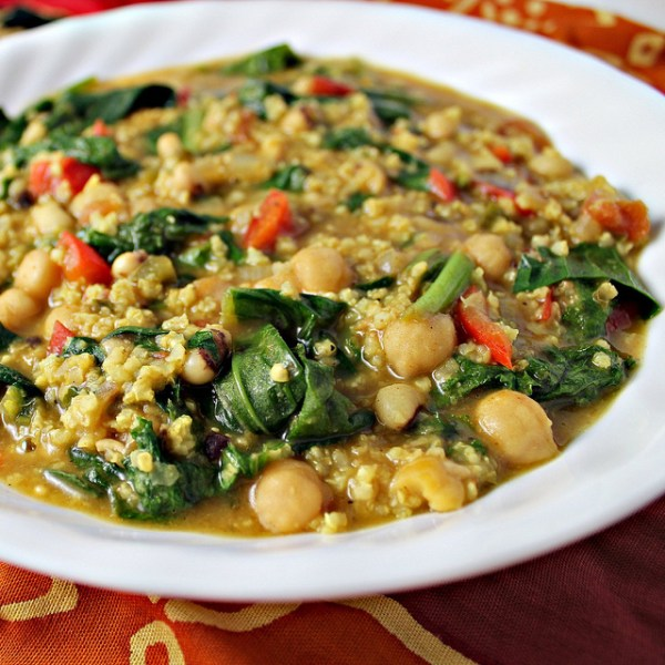 african coconut vegetable curry stew