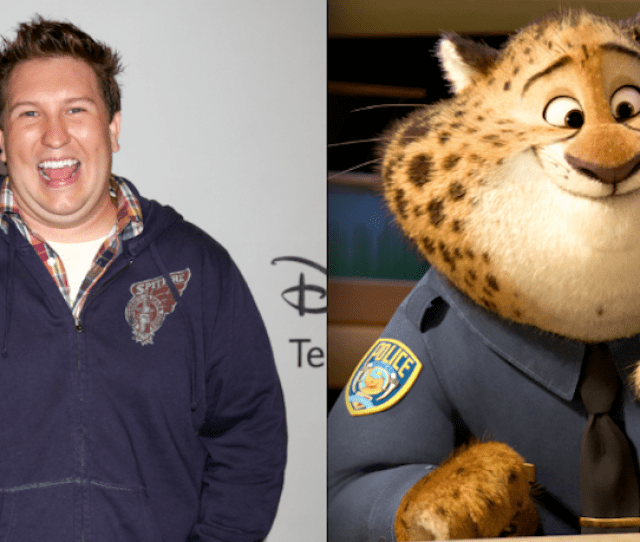 Nate Torrance As Officer Clawhauser
