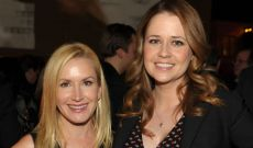 Jenna Fischer & Angela Kinsey Recreating an 'Office' Scene Is Seriously the Best