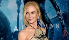 Nicole Kidman Walked the 'Aquaman' Blue Carpet with Her 'BLL' Family