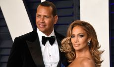 Alex Rodriguez Supports Jennifer Lopez & Her New Movie 'Hustlers' in the Best Way