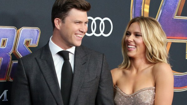 Scarlett Johansson Shares the Story of Colin Jost