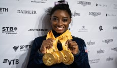 Simone Biles Now Has More Medals Than Any Gymnast in World Championships History