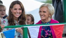 Kate Middleton Is Reportedly Teaming Up With Mary Berry for a Holiday Cooking Special