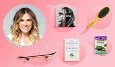 Drybar Founder Alli Webb's Parenting Essentials Include Seaweed Snacks & Skateboards