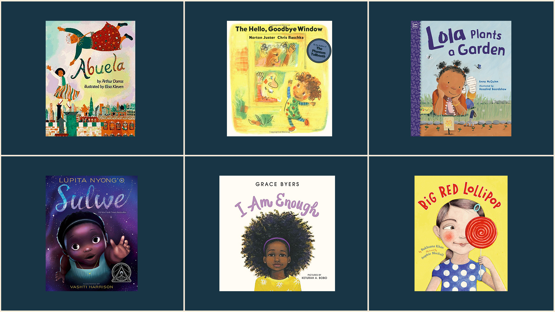 Diverse Children's Books Starring Black & Brown Girls Every Kid Should Read