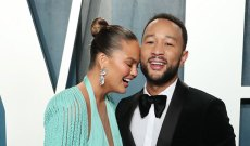 Chrissy Teigen Stages Elaborate Wedding for Luna's Stuffies, Because We All Could Use More Make-Believe