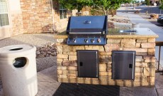 Stylish and Durable Outdoor Trash Cans for Your Patio