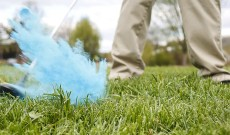 Cool Gender Reveal Exploding Balls to Make a Statement