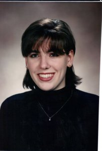 College Graduation Photo, 1996: A little more conservative!