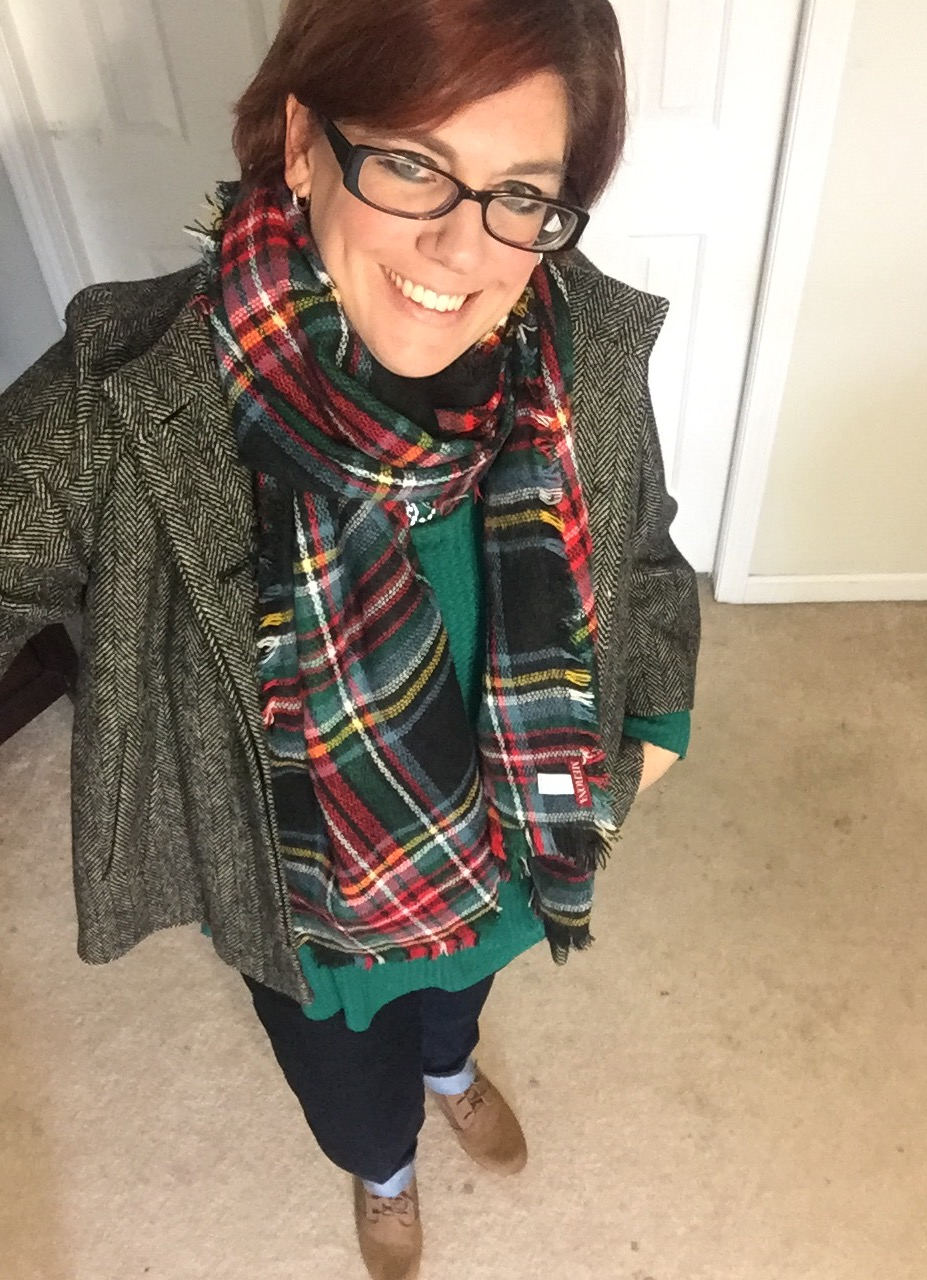 Herringbone and Plaid