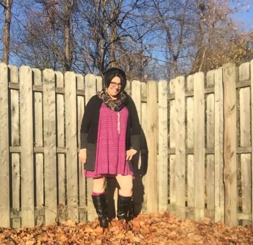 purple swing dress 7