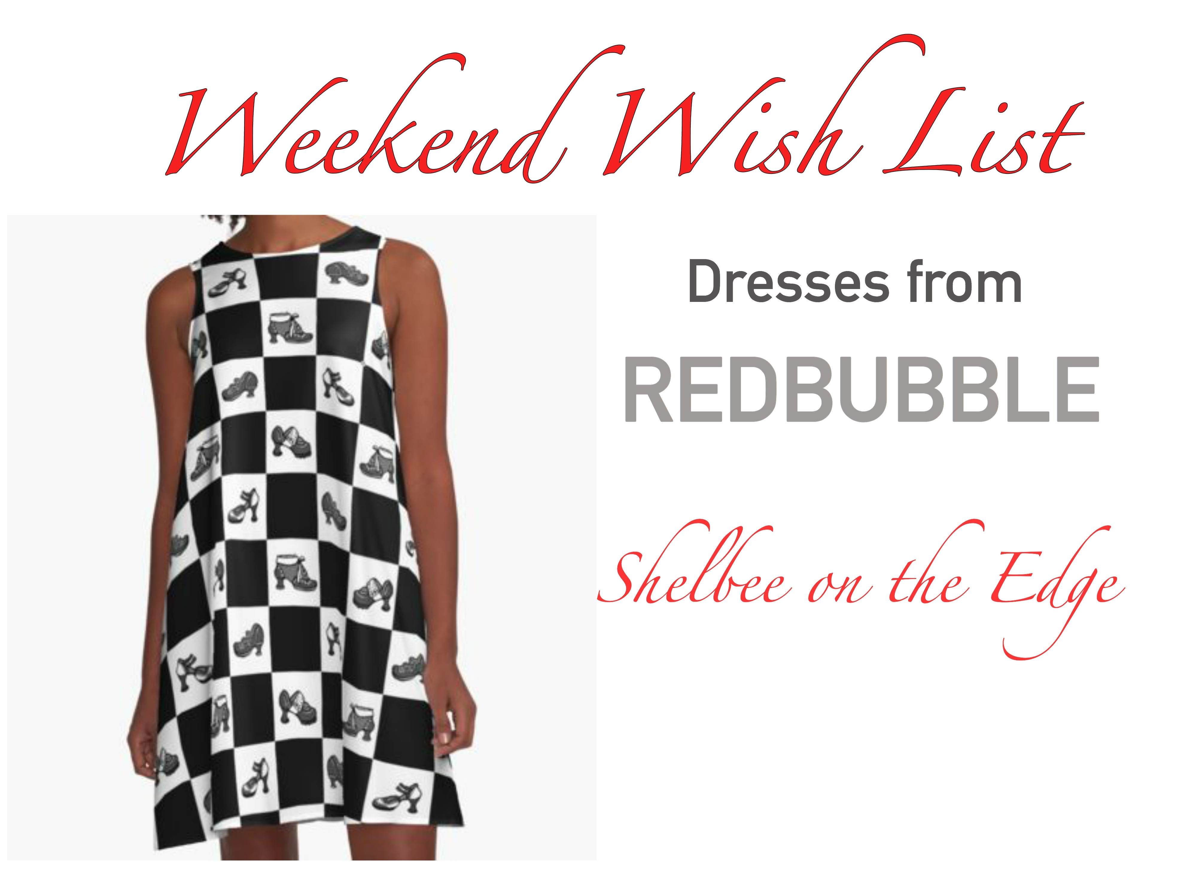 Weekend Wish List: Dresses from Redbubble