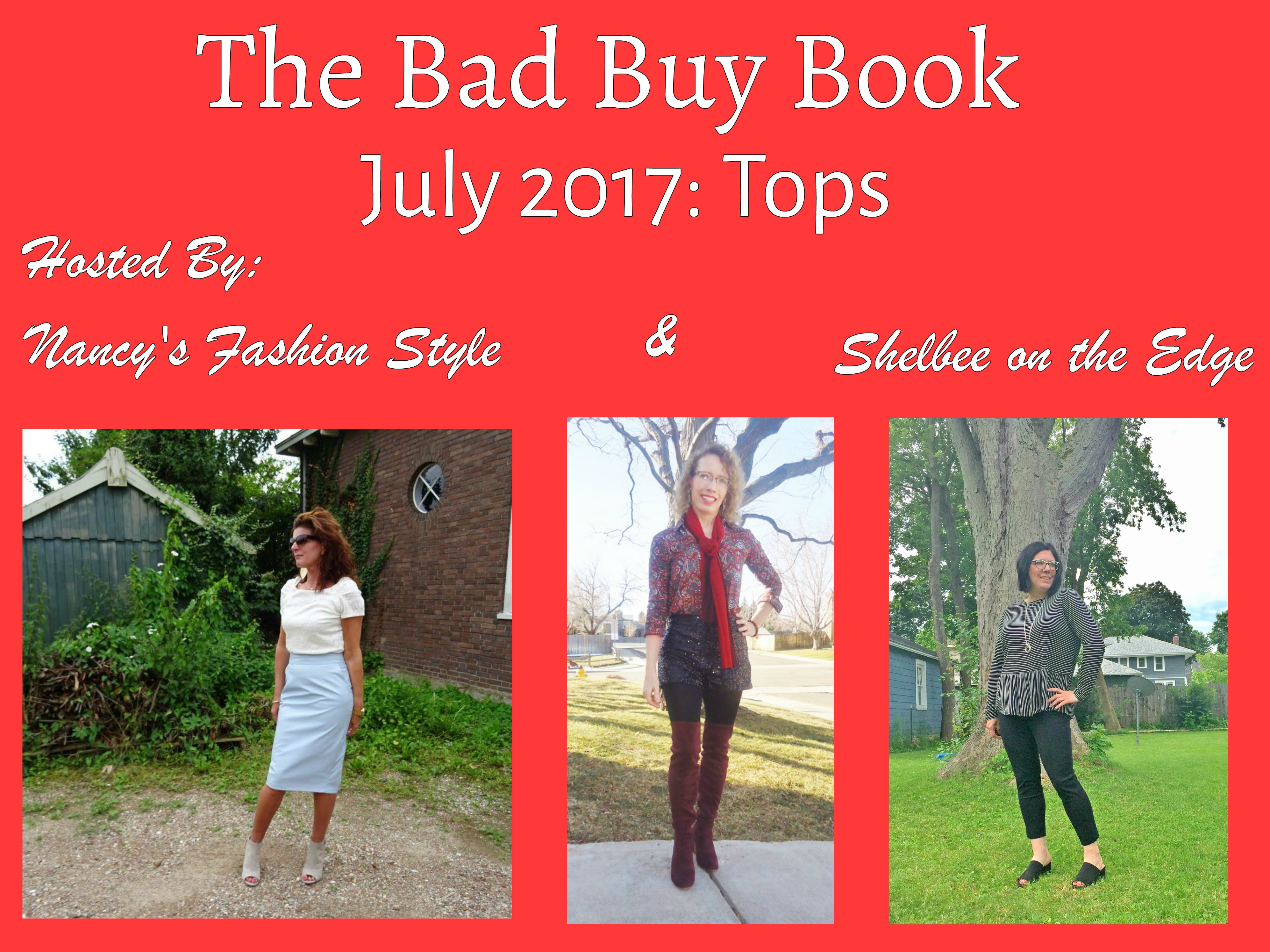 The Bad Buy Book: July 2017-Tops