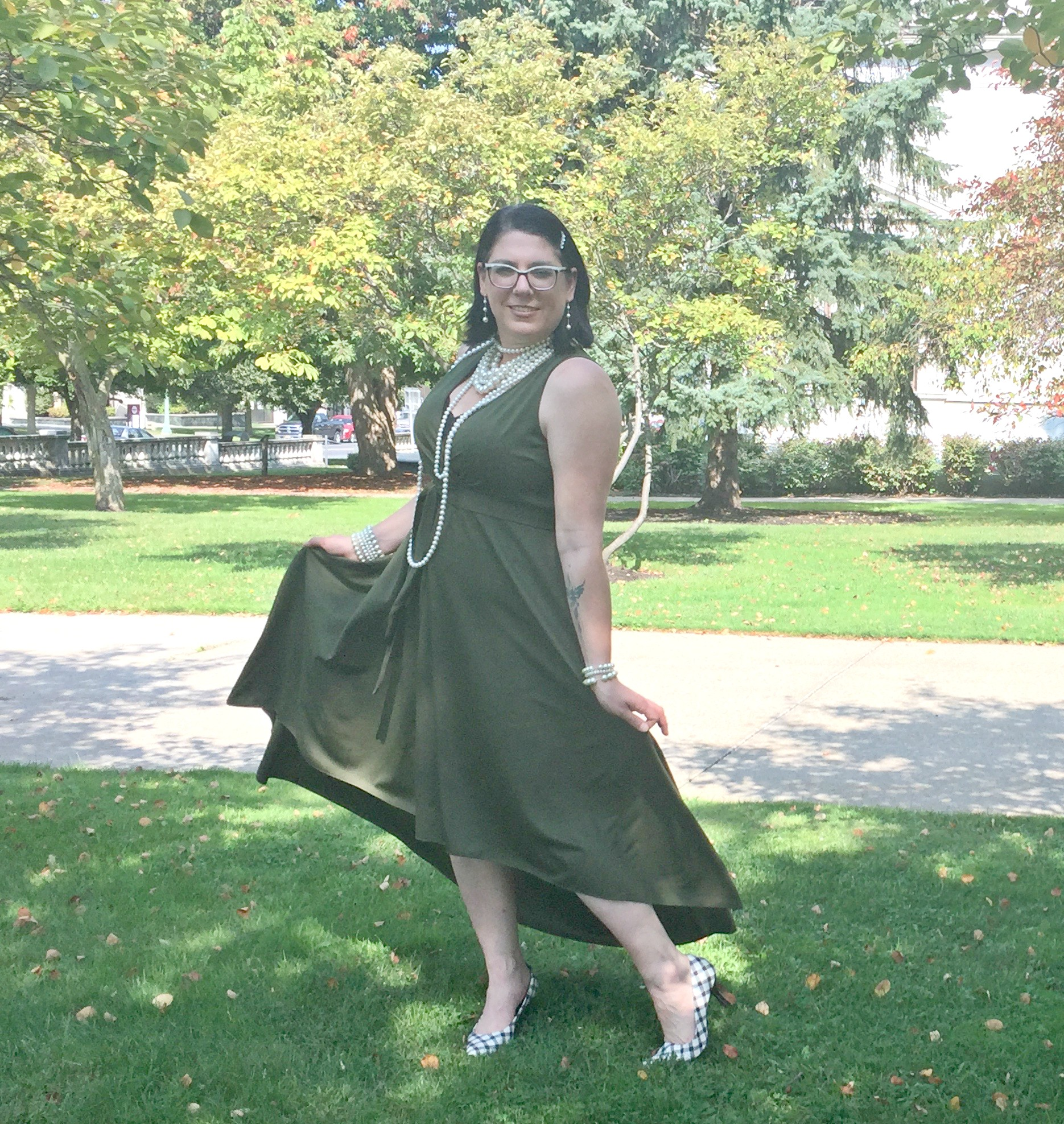 What to Wear to a Fall Wedding with Rosegal (Take 2) & Link Up On the Edge #62