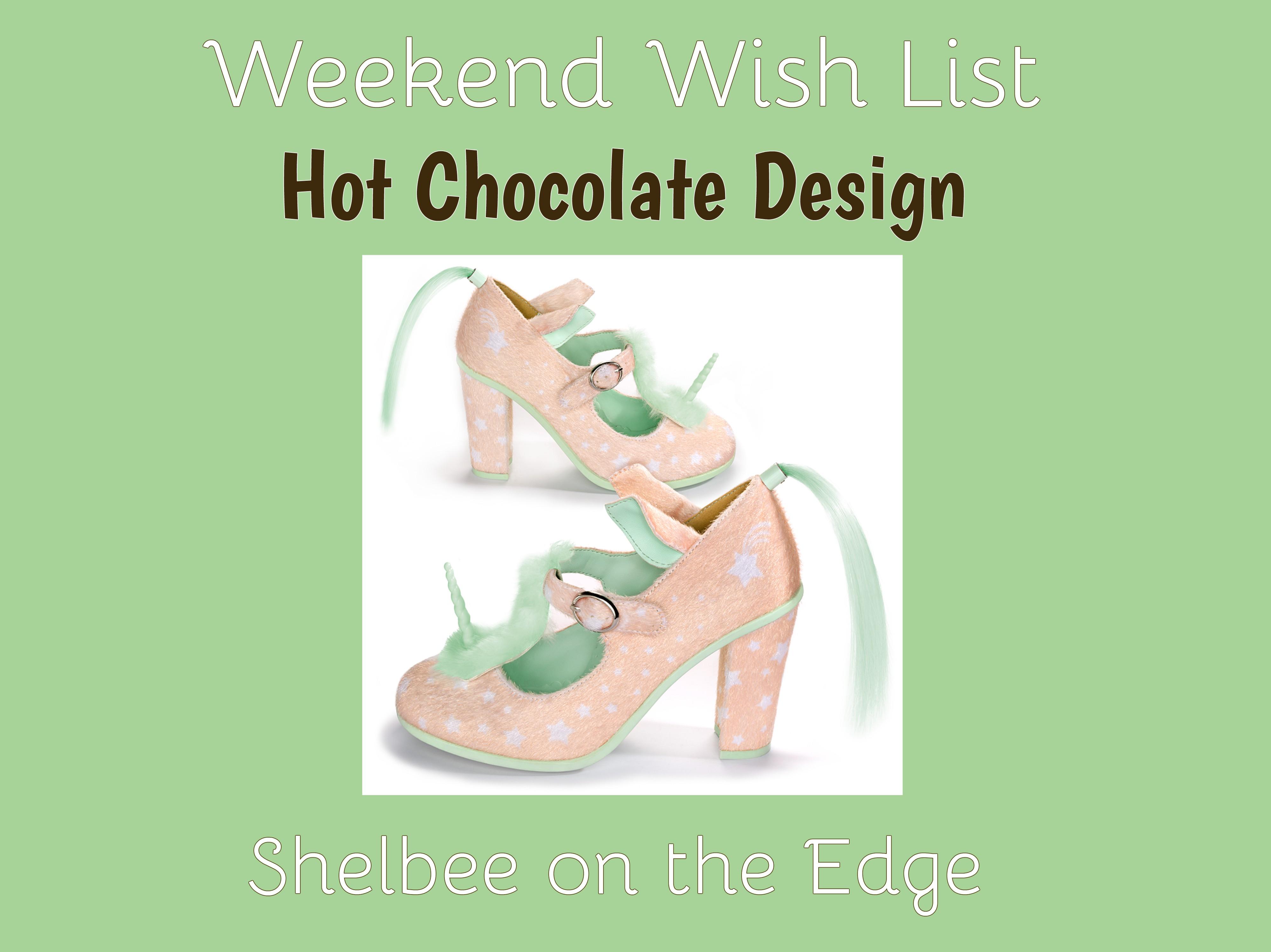 Weekend Wish List: Hot Chocolate Design