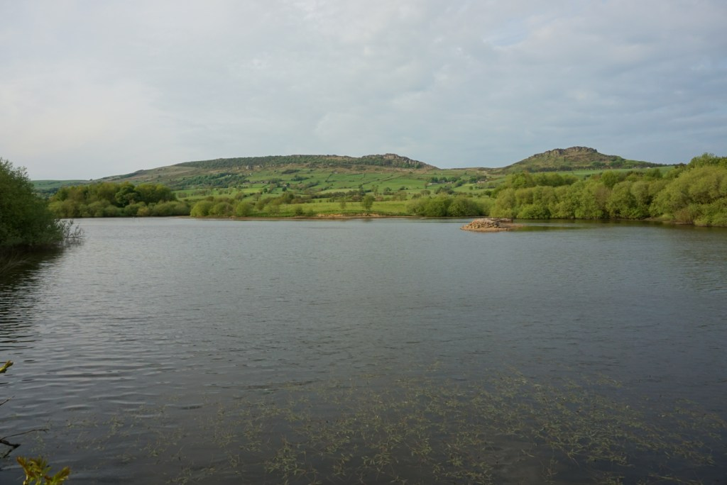 Looking across to the Roaches
