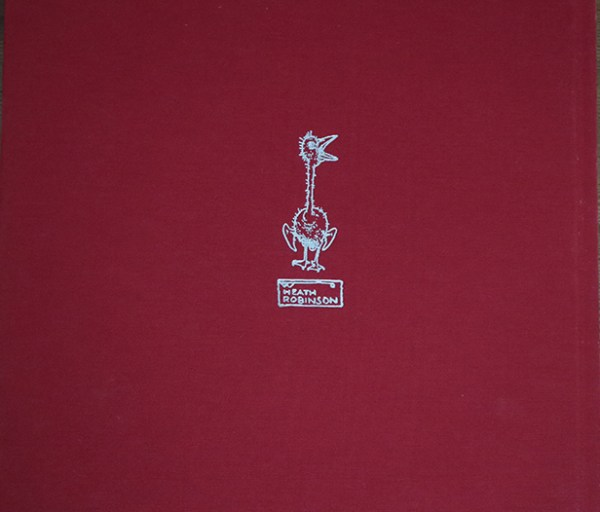 Photo of back cover