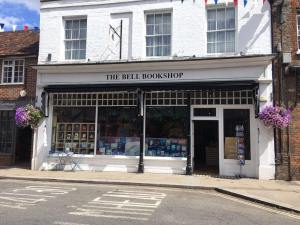 Colour photograph of the façade of The Bell Bookshop.