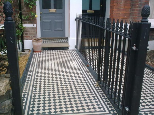 Traditional Front Paths