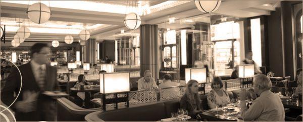 Top Table at St Pancras