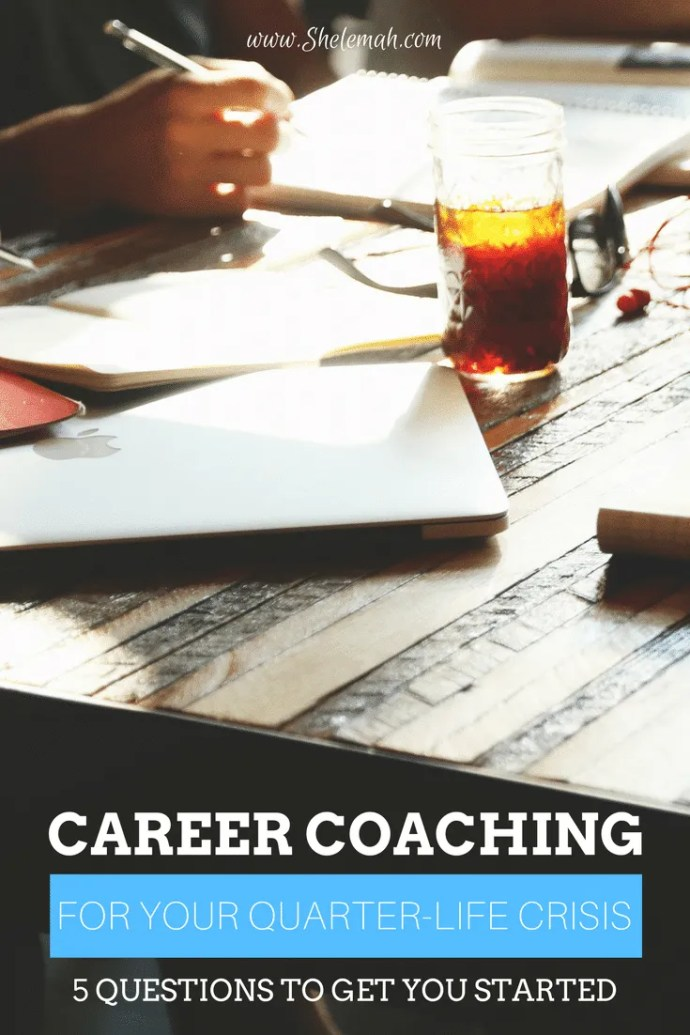 Feeling stuck in a quarter-life crisis? Learn how career coaching can help! 5 Questions to get you started on your career success path.