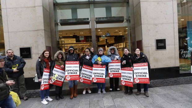 Mandate has said that a group of 100 shop stewards will meet within the next fortnight to set a date for further industrial action