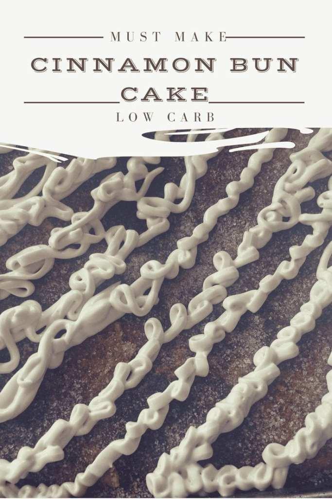 Ciinamon Bun Low carb cake