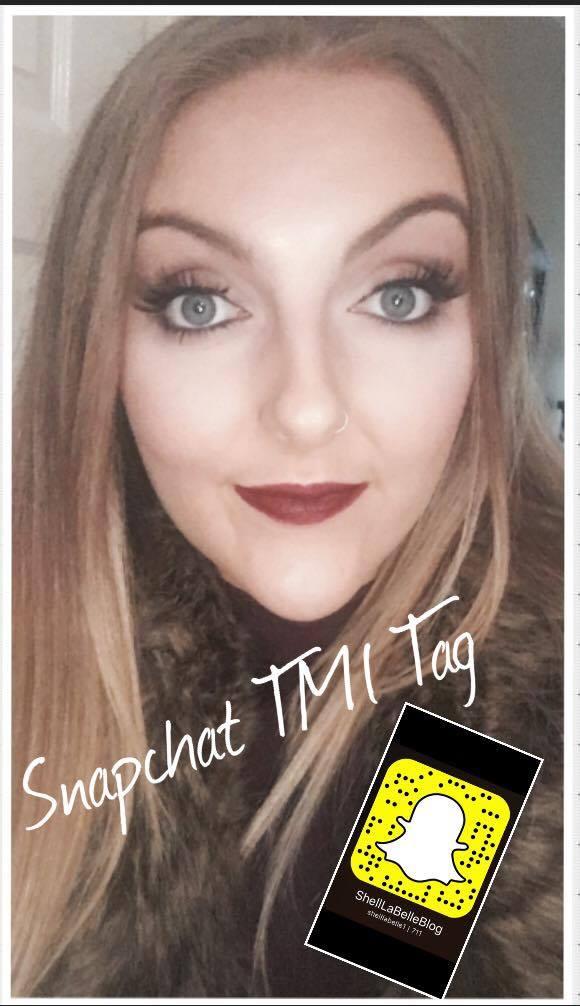 Snapchat TMI Tag 50 Random Questions