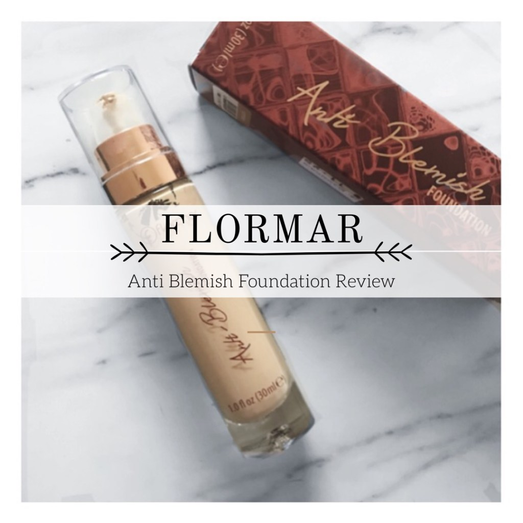 Flormar Anti Blemish Foundation Review