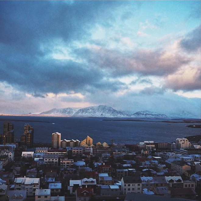 This time last year the stunning views of reykjavik ??hellip