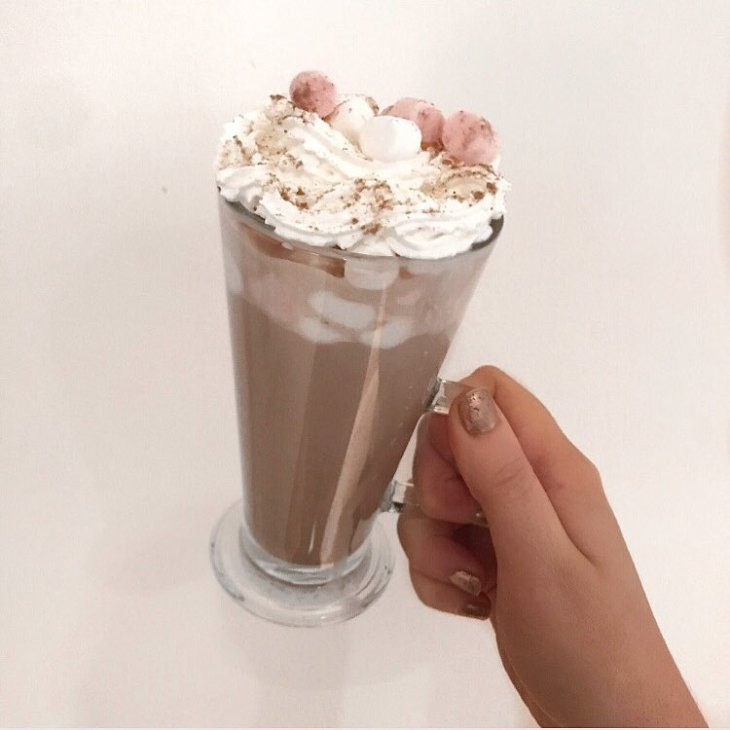 Getting ready for Im a celebrity hot chocolate and myhellip