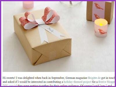 homemade gift wrap no credit Christmas